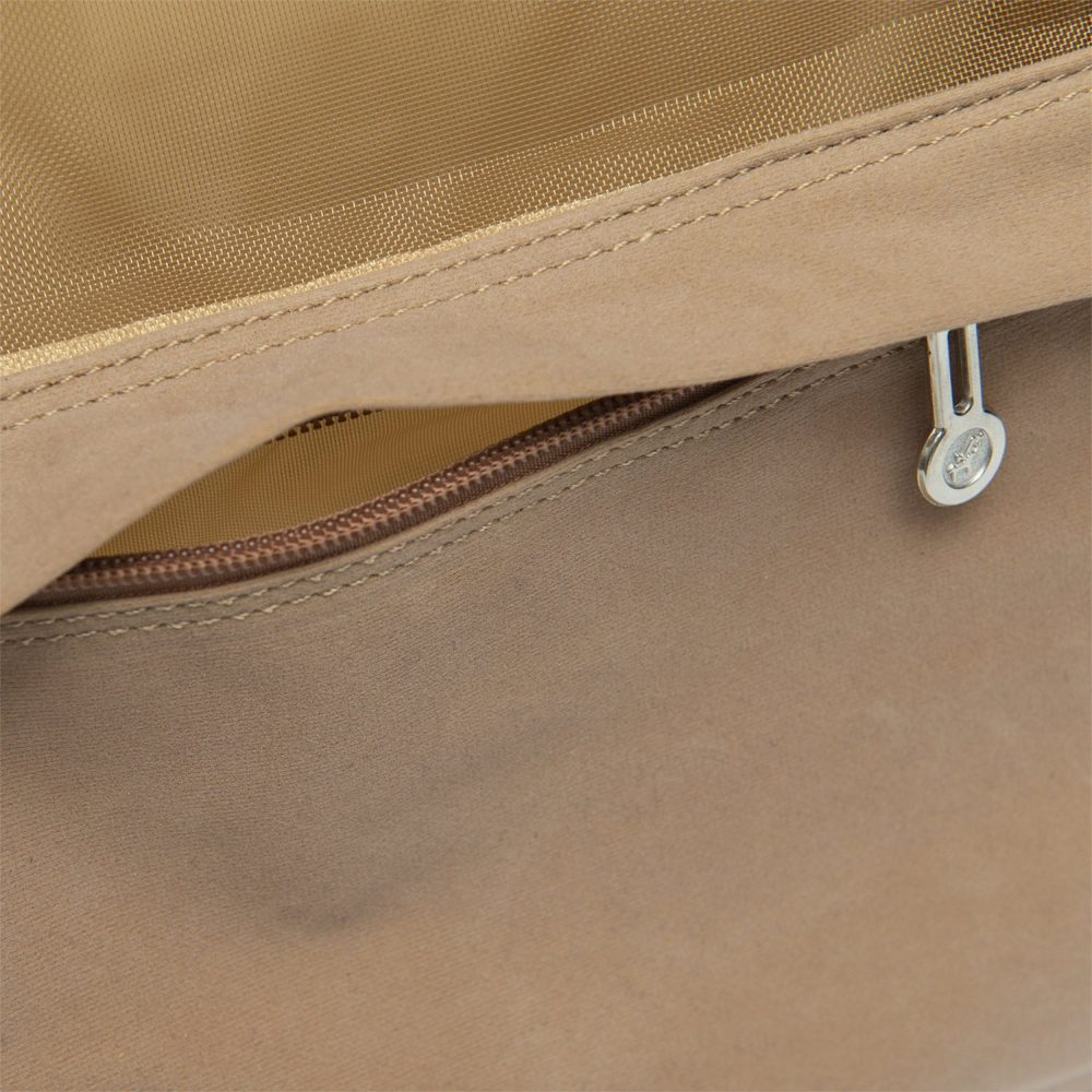Suede Carrier - Furbaby Couture