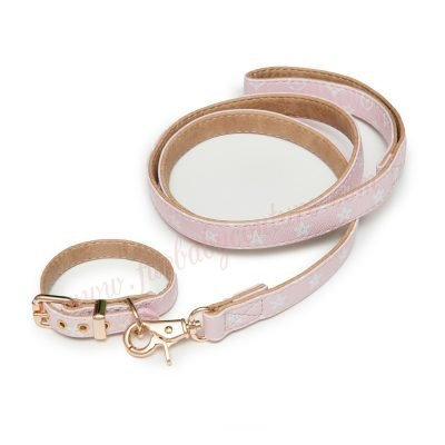 Love Me Collar & Leash Xs / Pink