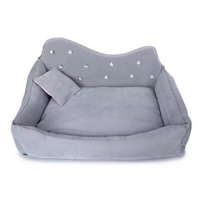 Diamond Bed Gray