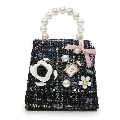 Dog Purse Pink Accessory - Coco Black