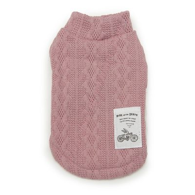 Pretty in Pink Knit Back