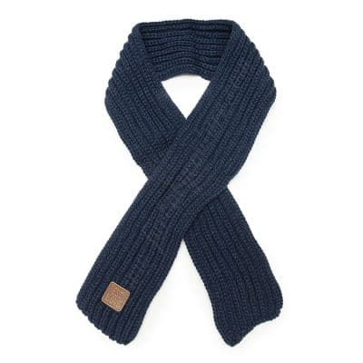 Doggy Knit Scarf Blue