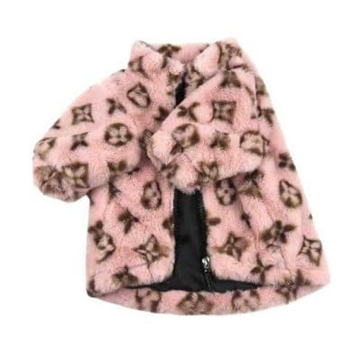 Dog Love-me-Coat-Pink