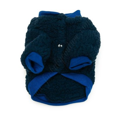 Teddy Jacket Blue Front